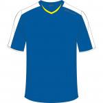 Spokey Fotbalové triko modré vel. XXL