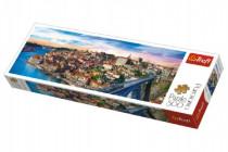 Puzzle Porto, Portugalsko panorama 500 dílků 66x23,7cm