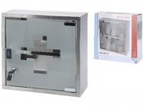 lékárnička 300x300x120mm nerez (bez výbavy)