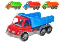 Auto nákladní sklápěčka 60 cm - mix barev