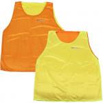 Spokey Shiny D vesta žlutá/oranžová oboustranná XL