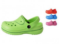 pantofle gumové dětské vel. 25 (pár) - mix barev