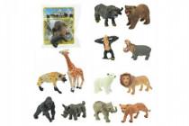 Zvířátko safari ZOO plast 6cm - mix variant či barev