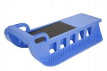 Sáně Kamzík plast modrá