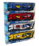 1:48 Kamión přepravní s 2 autíčky - mix variant či barev