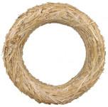 Kroužek slaměný - 30 cm - 15 ks