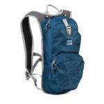 Spokey STELVIO Cyklistický a běžecký batoh 12l, modrý