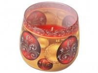 Svíčka ve skle VÁNOČNÍ OZDOBY vonná 100g