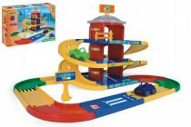 Garáž Kid cars 3D parkoviště 2 patra plast 4,6m Wader