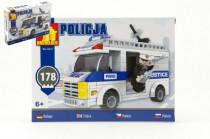 Stavebnice Dromader Policie Auto 23415