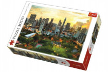 Puzzle Západ Slunce v Bangkoku 3000 dílků 116x85cm