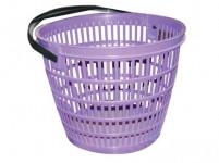 košík zahradní pr.28cm nosnost 5kg plastový - mix barev