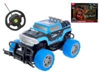 R/C auto off-road 1:20 20 cm 27 MHz s volantem na baterie plná funkce - mix barev
