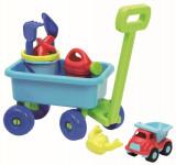 Vozík s konvičkou a setem na písek