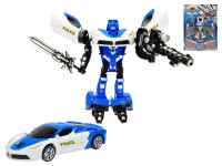 Auto/robot policejní 25 cm - mix barev