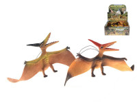 Pteranodon 41 cm na gumě - mix barev