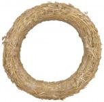 Kroužek slaměný - 18 cm - 10 ks