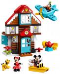 Lego Duplo 10889 Disney TM Mickeyho prázdninový dům