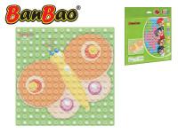 BanBao stavebnice Young Ones základní deska 25,5x25,5 cm transparentní