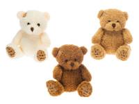 Medvěd plyšový 14 cm - mix barev