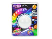 Skákající míček 5,5 cm na baterie svítící