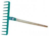 hrábě 12z d.33,5cm ocel S NÁSADOU 140cm