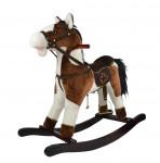 Houpací hnědobílý kůň 46 cm