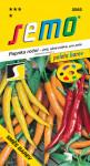 Semo Paprika zeleninová pálivá chili - směs barev 0,4g - série PALETA /SHU 50 000/