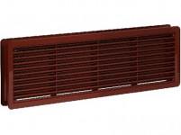 mřížka větrací dveřní plastová, 400x130mm HN (2ks)