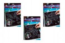 Perlový obrázek 200ks barevných perel 20,3x25,4cm - mix variant či barev