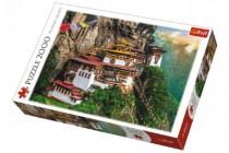 Puzzle Tygří Hnízdo Bhútan 2000 dílků 96x68cm