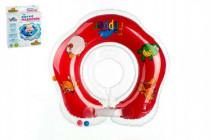Plavací nákrčník Flipper/Kruh červený v krabici 17x20cm