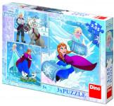 WD Frozen: Zimní radovánky 3x55D