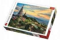 Puzzle Pohádkové Chiang Mai Thajsko 2000 dílků 96x68cm
