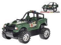 Auto terénní vojenské 30 cm na setrvačník