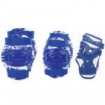 Spokey Aegis 3-dílná sada dětských chráničů modré velikost S