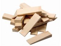 klínek montážní dřev. 80x25x10-3mm (20ks)