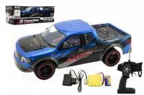 Auto RC plast 40cm zrychlující na baterie dobíjecí pack