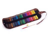 Barevné pastelky v rolovacím pouzdře Cuculo, 48 kusů