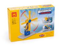 Stavebnice 3v1 Wange - větrný mlýn, katapult, vrtule
