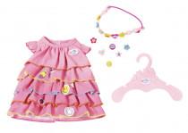 BABY born Letní šatičky s nacvakávacími ozdobami - mix variant či barev