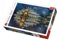 Puzzle Wat Pa Phu Kon, Thajsko 1500 dílků 85x58cm