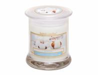 Svíčka ve skle WELLNESS - BAVLNA 260g