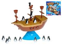 Hra Pirátská loď s balancujícími tučňáky