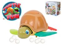 Turtle Fun společenská hra želva 22 cm na baterie se zvukem