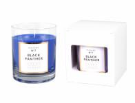 Svíčka ve skle PARFUME NO.7 Černý Panter vonná 250g