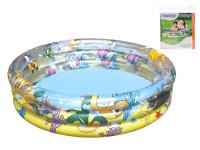Bazén nafukovací 3 komory 102x25 cm 110 L
