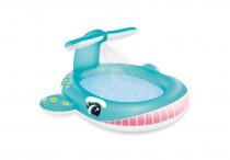 Bazén dětský s rozstřikováním Velryba