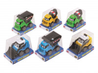 Auto pracovní Happy Builder 13 cm - mix variant či barev