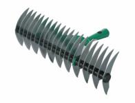 Prořezávač trávníku 21 zubů, 2stranný, zelený, 38cm